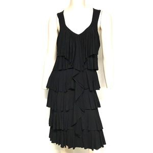 Cynthia Rowley tiered flapper dress
